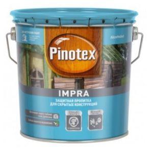 Пропитка Pinotex IMPRA для скрытых конструкцийЗеленая 9 л.