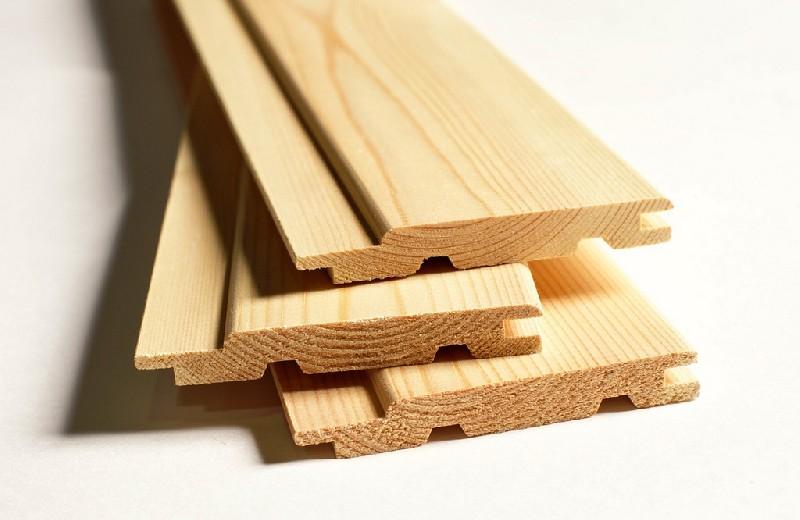 Вагонка деревянная хвойных парод, Евро 12,5*90 мм 12,5х90х1000 сорт АВ
