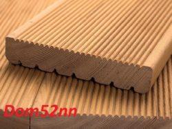 Доска террасная из лиственницы 28х140х3000мм Сорт Экстра