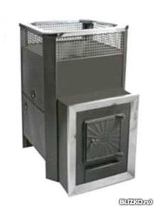 Банная печь радуга пб-21 С выносом