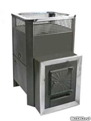 Банная печь радуга пб-21 С левым теплообменом