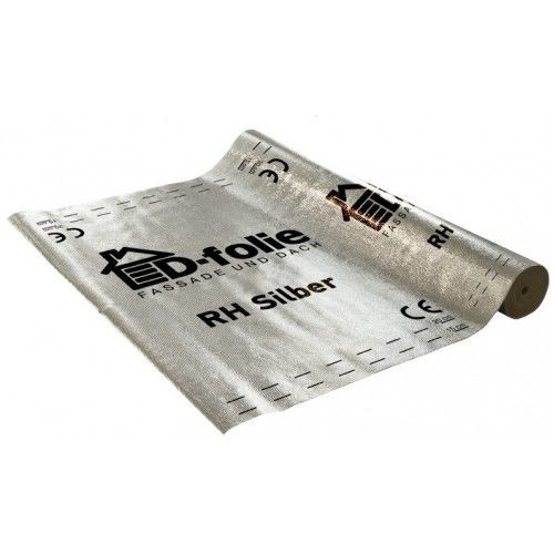 Пленка DOCKE D-Folie RH Silber 77 г/м2 с отражающим слоем75 м2