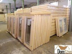 Окно деревянное зимнее, размер: 60*120 см