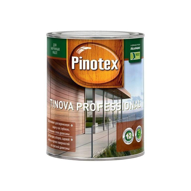 Пропитка Pinotex Tinova Professional сосна, полисандр 5,0 л.