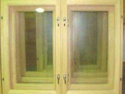Окно деревянное зимнее, размер: 1,2*1,2 м