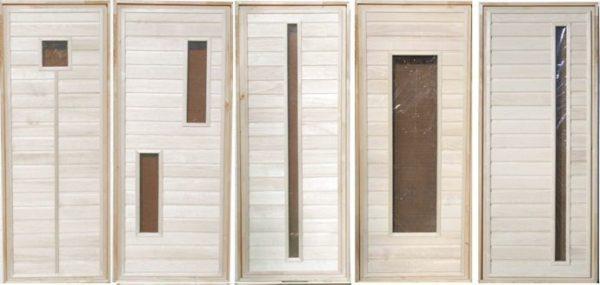 Дверь деревяннаябанная, см 80х170