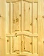 """Дверь межкомнатная деревянная под покраску глухая """"Ампир"""" 70х190"""