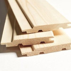 Вагонка деревянная Сорт С 90х12,5х2000мм