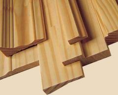 Наличник деревянный крашенный без сучков 70*2200мм