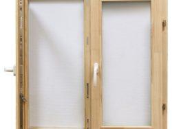 Окно деревянное террасное с одинарным остеклением, летнее, размер: 0,6*1,2