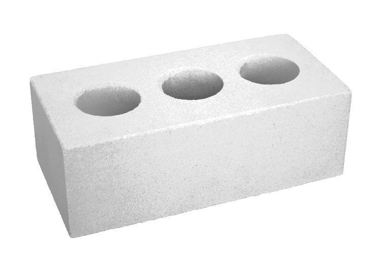 Кирпич облицовочный силикатный белый и цветной колотый (Бор)250х120х88