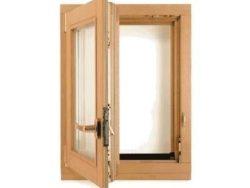 Окно деревянное террасное с одинарным остеклением, летнее, размер: 0,8*0,7