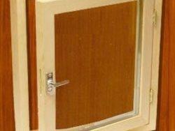 Окно деревянное зимнее, размер: 80*70 см