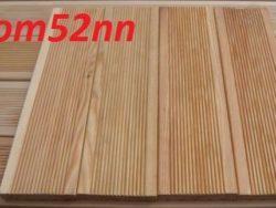 Доска террасная из лиственницы 28х140х4000мм Сорт Экстра