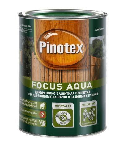 Пропитка Pinotex FOCUS AQUA 9 л