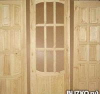 """Дверь межкомнатная деревянная под покраску глухая """"Ампир"""" 60/70/80х2000"""