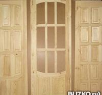 "Двери ""Шоколадка"", ""Арочка"" под покраску 60/70/80х200"