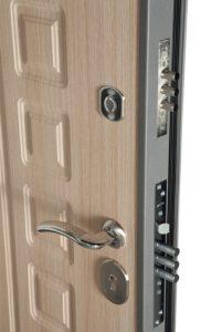 "Дверь металлическая ""Троя"" 3-х контурник 80мм 860х2050 и 960х2050"