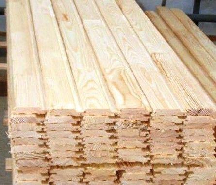 Вагонка деревянная липовая для Бани 90х14х1500мм Сорт В