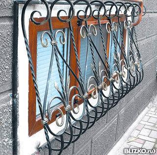 Металлические решетки сложные 1000х1000