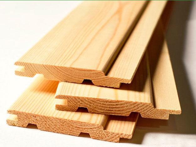 Вагонка деревянная липовая для Бани 90х14х1800мм Сорт В
