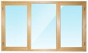 Окно деревянное террасное с одинарным остеклением, летнее, размер: 0,9*1,8