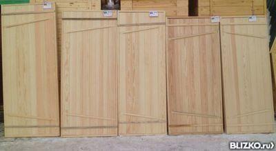 """Дверь банная хвоя 170х80 (1700х800) соединение """"ласточкин хвост"""""""