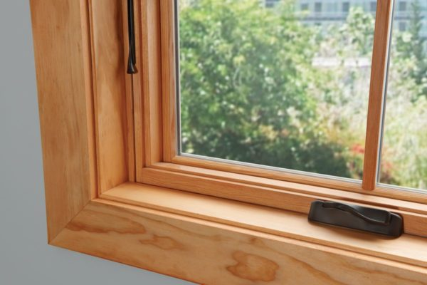 Окно деревянное зимнее, см 80х140