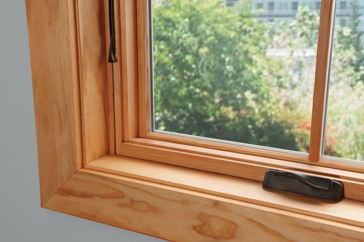 Окно деревянное с одинарным остеклением летнее, см 150х100